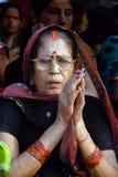 印度妇女 免版税库存图片