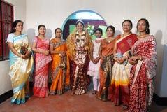 印度妇女 免版税库存照片