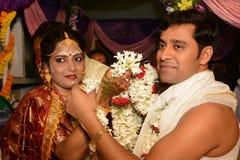 印度婚姻 库存照片
