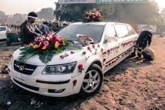 印度婚礼关心装饰 库存照片