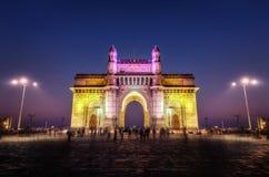 印度孟买孟买的门户 图库摄影