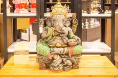 印度宗教Ganesh  库存照片