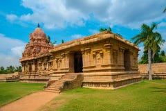 印度寺庙伟大的建筑学致力了希瓦 免版税库存图片