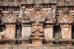 印度寺庙在亨比 库存图片