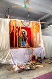 印度寺庙在吉大港,孟加拉国 库存照片