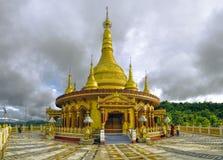 印度寺庙在孟加拉国 免版税库存图片