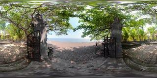印度寺庙在巴厘岛vr360 影视素材