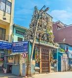 印度寺庙在科伦坡 库存图片