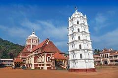 印度寺庙在Ponda, 库存图片