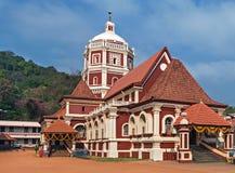 印度寺庙在Ponda, 免版税库存照片