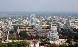 印度寺庙塔 免版税图库摄影