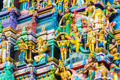 印度寺庙斯里兰卡 免版税库存图片