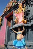 印度寺庙详细资料 免版税库存图片