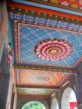 印度寺庙细节-毛里求斯 图库摄影