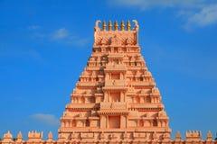 印度寺庙arcitecture 库存照片