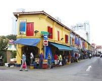 印度少许新加坡 免版税库存图片