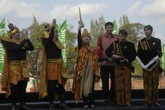 印度尼西亚书面传统 库存图片