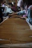 印度尼西亚书面传统 库存照片