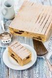 印度尼西亚人夹心蛋糕`奎伊lapis `用修剪 库存照片