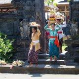 印度尼西亚人民庆祝巴厘语新年和春天到来  库存照片