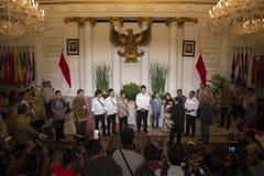 印度尼西亚人质移交 免版税库存图片