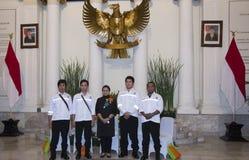 印度尼西亚人质移交 免版税库存照片