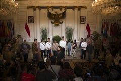 印度尼西亚人质移交 免版税图库摄影