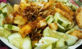 印度尼西亚传统食物 免版税库存图片