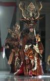 印度尼西亚传统布料蜡染布 库存图片