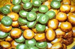 印度尼西亚传统蛋糕 免版税库存照片