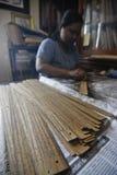 印度尼西亚古老纸卷资助需要 免版税库存照片