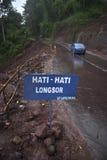 印度尼西亚季风风险 库存照片