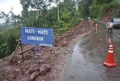 印度尼西亚季风风险 图库摄影