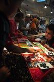 印度尼西亚宝石热病 免版税库存图片
