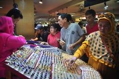 印度尼西亚宝石热病 免版税库存照片