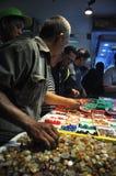 印度尼西亚宝石热病 库存照片