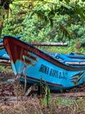 印度尼西亚小船 免版税库存图片