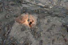 印度尼西亚岩石 免版税库存照片
