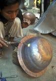 印度尼西亚工艺品出口市场 免版税图库摄影