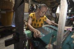 印度尼西亚工艺品出口市场 免版税库存图片