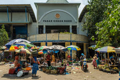 印度尼西亚市场 库存图片