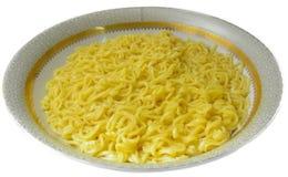 印度尼西亚意大利面食黄色 免版税库存图片