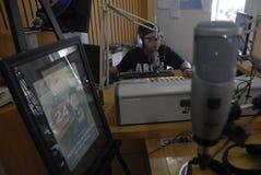 印度尼西亚收音机广播世界 免版税库存照片