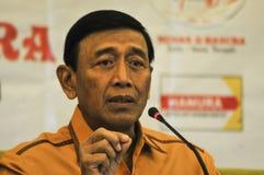 印度尼西亚政治朝代 库存图片