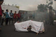 印度尼西亚新的燃料 免版税库存图片