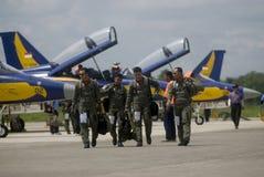 印度尼西亚新的空军队喷气式歼击机提案 库存照片