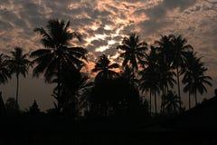 印度尼西亚日落 库存图片