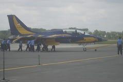 印度尼西亚最快速的增量国防预算 库存照片