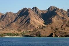 印度尼西亚海岛komodo 免版税库存图片