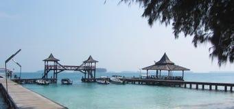 印度尼西亚海岛sepa 免版税图库摄影